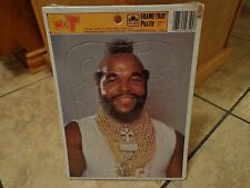1984 GOLDEN--MR.T FRAME TRAY PUZZLE (NEW) #1