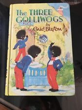 The Three Golliwogs by Enid Blyton 1969 Dean Vintage Children's Book