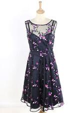 BNWT Phase Eight Womens Navy Fleur Dress Size 12