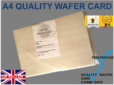25 QUALITY WAFER CARD BLANK EDIBLE WAFER PACK OF A4 SIZE EDIBLE CARD 0.65mmTHICK