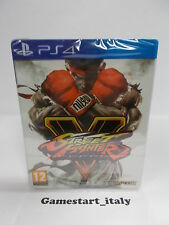 STREET FIGHTER 5 V STEELBOOK LIMITED EDITION - SONY PS4 - NUOVO VERSIONE ITA