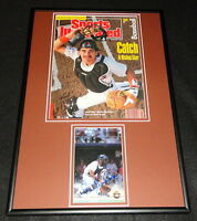 Benito Santiago Signed Framed 1989 Sports Illustrated Cover Display Padres