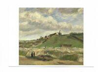 AK, Künstlerkarte v.Vincent van Gogh, Esprit Montmartre, Frankfurt Main, Schirn,