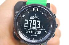 Suunto Core Green Crush Watch Compass Altimeter Barometer Outdoor SS019163000 Lo