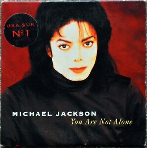CD single Michael Jackson - You are not alone