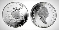 Canada 2001 National Ballet Proof UNC Silver Dollar!!