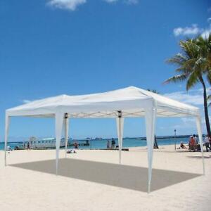 10x20' EZ POP UP Canopy Gazebo Folding Wedding Party Event Tent Patio w/Bag