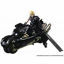 Jun1902 Final Fantasy VII AC Play Arts Kai Cloud Strife and Fenrir Action Figure