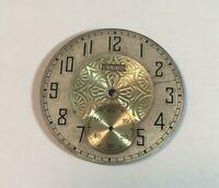 Antique Pocket Watch Face Dial ELGIN Part Gold Tones