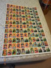 1985 TOPPS  GOONIES UNCUT SHEET (132)  CARDS OUTSTANDING. FREE $12 TOP LOADER