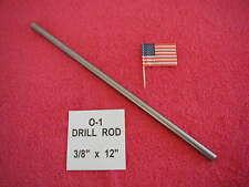 38 X 12 Drill Rod 0 1 Tool Steel Precision Ground 375 Machinist