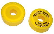 Jeu de 2 ruban bande de PTFE téflon pour joints de robinetterie plomberie -C1205