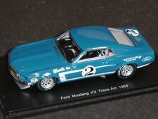 Spark 1/43 Shelby Ford Mustang #2 Trans Am 1969 Dan Gurney