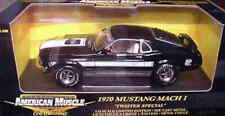 1970 Ford Mustang Mach 1 Twister BLACK 1:18 Ertl American Muscle 33274