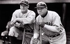 Classic Babe Ruth Lou Gehrig YANKEES Photo Vinyl Banner 4' x 2.5'  FREE SHIPPING