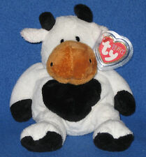 GRAZER THE COW - TY PLUFFIES - MINT with MINT TAGS