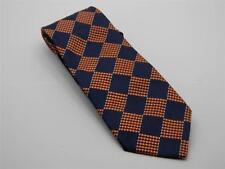 Vintage Ermenegildo Zegna Men's Tie Made In Italy 100% Silk