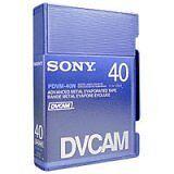 PDVM-40N SONY DVCAM 40 MIN. NEW SINGLE TAPE