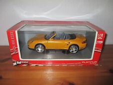(Go) 1:18 Mondo Motors Porsche 911 Turbo Cabriolet NIP