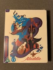 ALADDIN-Mondo-Disney-Animated-Steelbook Blu-ray-Princess-New & Sealed