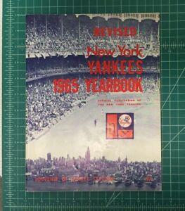 Original 1965 Official New York Yankees Yearbook Revised - Maris Mantle Nice!