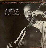 SAM JONES*Pre-Owned  LP**VISITATION [gluing gone]**PLAYED ONCE