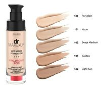 Verona Ingrid Dr Makeup Lift Serum Foundation with Hyaluronic Acid 5 Shades 30ml
