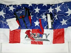 Acuity Speed Foil Kite 1.2 - Patriotic Stars & Stripes w/Line Nylon Parafoil NEW