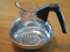 Decanter, coffee pot,Black, Bunn, 06100.0101,regular ,64oz, stainless steel