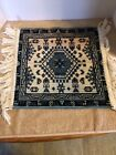 Vintage TAPESTRY Wall Hanging or Lay Flat With Fringe
