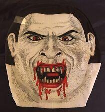 Halloween Vampire Pullover Skin Mask - Sheer Material Adult OSFM - NIP Spooky!