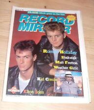Record Mirror Music, Dance & Theatre Magazines