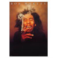 New Official Bob Marley - Smoking Postcard
