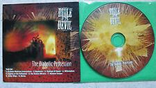 BIBLE OF THE DEVIL  ‎The Diabolic Procession PROMO CD Cruz Del Sur Music ‎cruz20