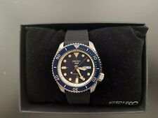 Seiko 5 Blue Dial SRPD93 Automatic Rubber Strap Watch