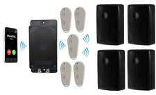 Covert Battery Silent 3G GSM UltraDIAL Alarm with 4 x Outdoor UltraPIR's