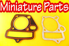 PITBIKE GASKET PIT BIKE HEAD GASKET SET 125CC LIFAN 52.4MM OVAL OIL RING TYPE
