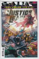 JUSTICE LEAGUE #34 DC comics NM 2019