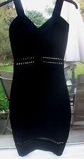 H&M Patternless Mini Regular Size Dresses for Women