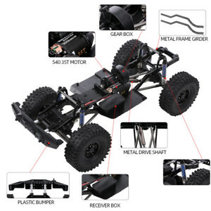 313mm Wheelbase Chassis Frame and Trie for 1/10 AXIAL SCX10II 90046 90047 RC Car