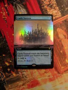 MTG Card: Castle Vantress EXTENDED ART FOIL