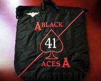"USN Pilot Naval Aviation VF-41 ""BLACKACES"" flight helmet bag HGU"