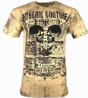 XTREME COUTURE by AFFLICTION Men T-Shirt EVER MOTOR Tatto Biker MMA Gym S-4X $40