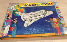 Space Discovery by James Harrison A magic skeleton book fun space facts pulltabs