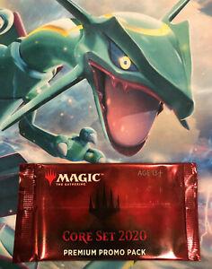 1x Core Set 2020 Premium Promo Pack Sealed MTG Magic the Gathering