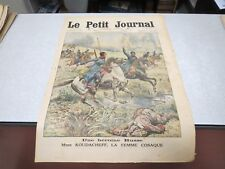 LE PETIT JOURNAL SUPPLEMENT ILLUSTRE N° 1247 1914 une héroine russe KOUDACHEF *