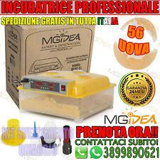 MGidea Incubatrice Automatica per 56 Uova e Kit Svezzamento Pulcini