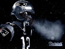 "026 Tom Brady - NFL American Football Quarterback Stars 19""x14"" Poster"