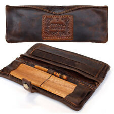 More details for the bulldog amsterdam mini / large leather kavatza smokers pouch uk