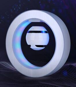 Magnetic Levitation Wireless Bluetooth Speaker LED Colorful lamp 3D Floating